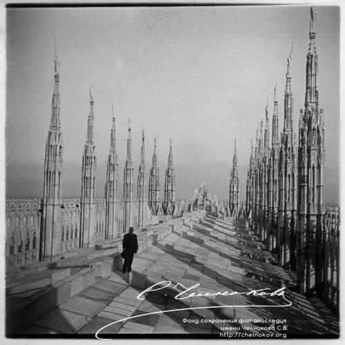 На крыше Миланского собора. Италия, МиланEUR_chelnokov-stereo-kass20-343 (Копировать)